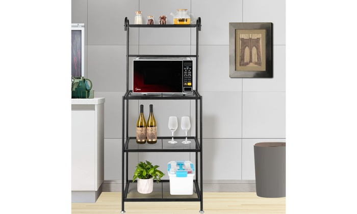 Up To 42% Off on 4-Tier Bakers Racks for Kitch... | Groupon ...