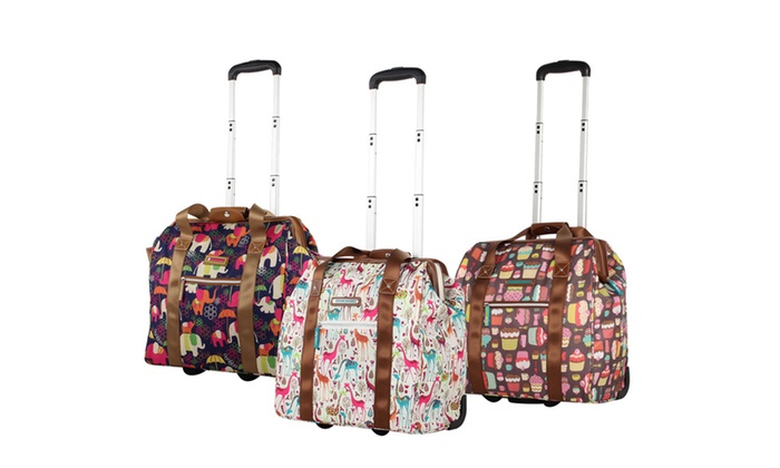 Lily Bloom Underseat Wheeled Cabin Totes Carry On Luggage