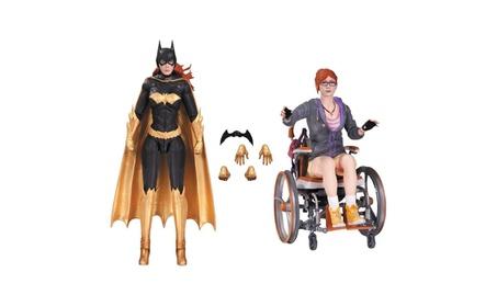 Batman Arkham Knight: Batgirl & Oracle Action Figures Limited DC Toy 07d09274-cd28-429f-8e5d-89d465fca904
