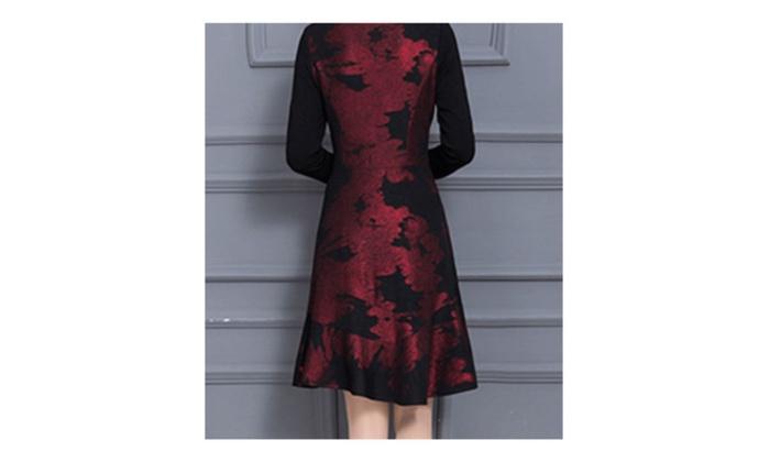 edd86ea9fdc ... Women Printed Halter Skirt Short Skater Dress-ZWWD138- ZWWD142 ...