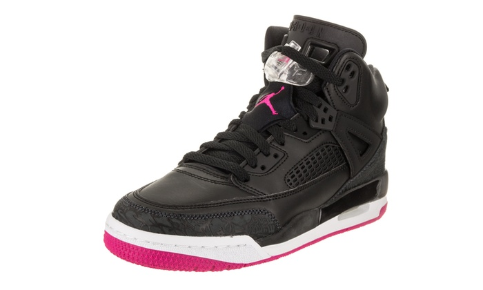 the latest 87f7e 88d88 Nike Jordan Kids Jordan Spizike GG Basketball Shoe 6 Kids US Black Deadly  Pink Anthracite