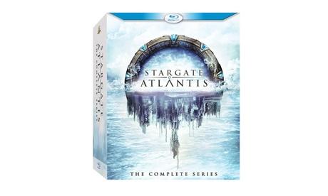 Stargate Atlantis: The Complete Series (Blu-ray) 193978e9-f8f4-49a8-94f5-c1262fdb7e08