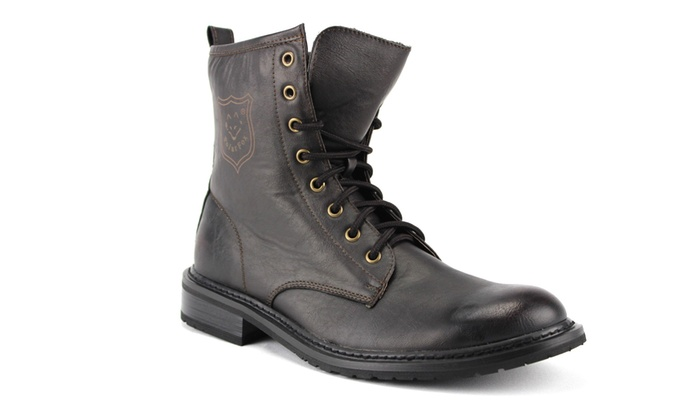 cccbdf6e5b5 Men's Lace Up Combat Boots 808563