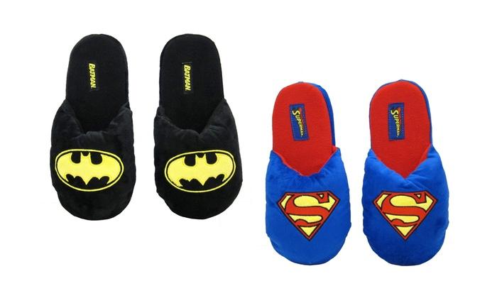 Clearance: Superhero Plush Slippers