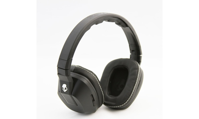 2295e0e5fb9 Skullcandy Crusher Wired Over-Ear Headphones with Microphone | Groupon