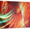 Light Show Abstract Metal Wall Art 28x12