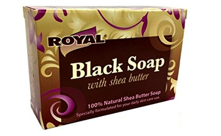 Certified Black Soap Beauty Bar with Shea Butter Cleanes Skin 23997ebc-11a9-4c59-b377-8f23ab200acf