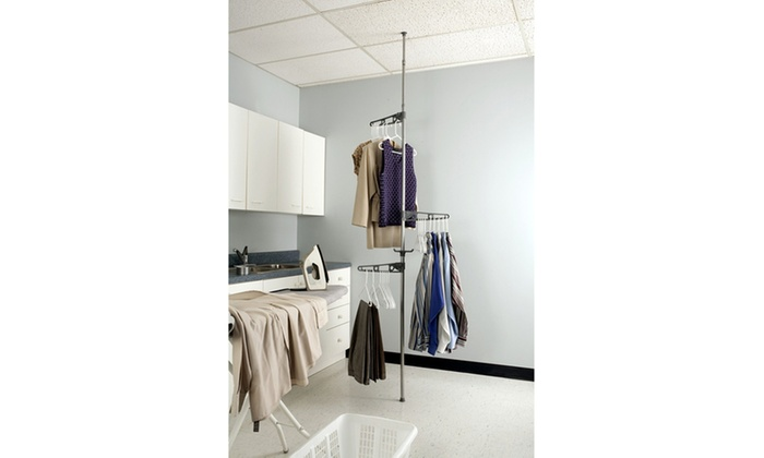 Adjustable Corner Valet Rack Adjustable Corner Valet Rack ...