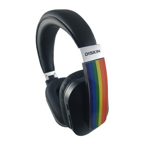 dca087e93bab6 Diskin DH2 Bluetooth Wireless Rainbow Headphones