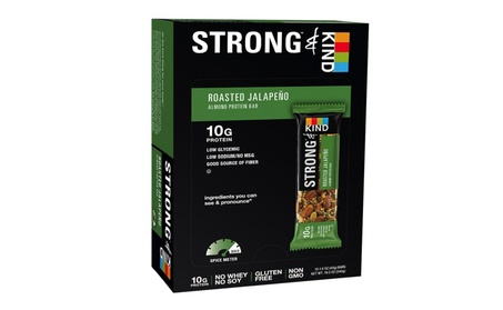 STRONG & KIND Protein Bars, Roasted Jalapeno Savory Snack Bars 1ba69fd1-8d3c-4c8c-a253-f0f9e395a9f2
