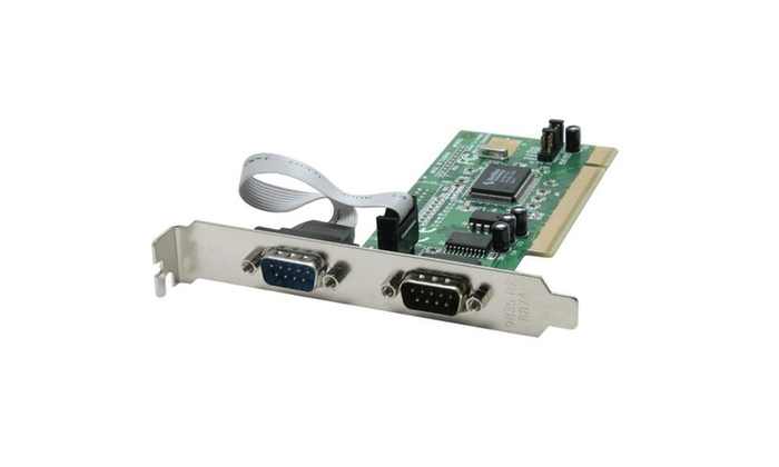 StarTech PCI2S550 2 Port PCI RS232 Serial Adapter Card With 16550 UART