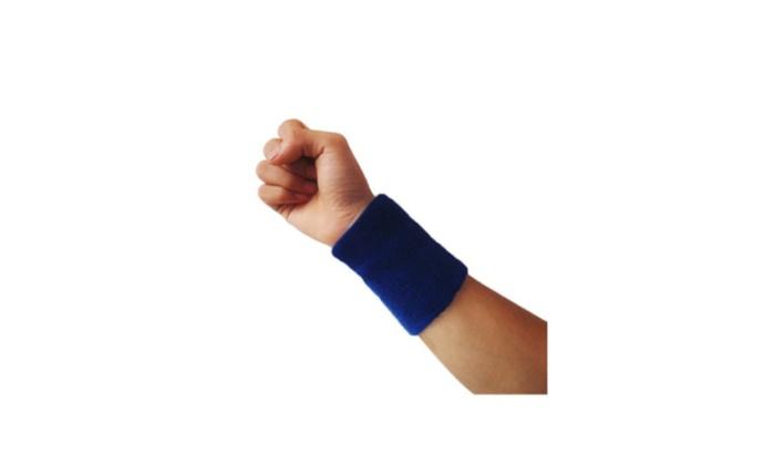 Women Sports Sweatband Men Tennis Squash Badminton Terry Cloth Wrist