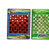 Checkers Board Game and Snakes & Ladders Game, Set of 2 Jumbo Size, By Dimple