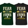 Men's Fear The Fans Football T-Shirts
