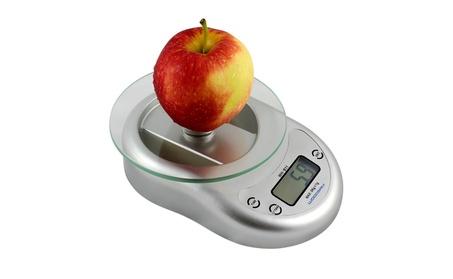 Digital Kitchen Scale Diet Food Weighing Balance Clock Silver 5Kg 1g d434bb85-51ab-4430-bf83-20772ba59fea