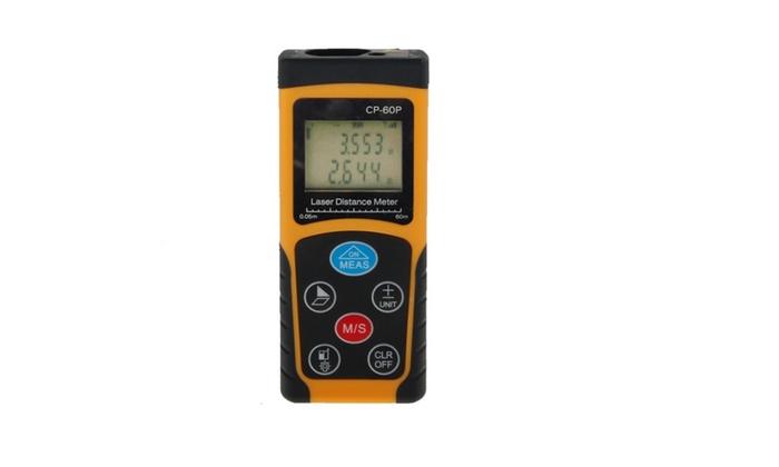 60 feet Handheld Digital IR Laser Distance Measurer Range Finder
