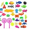 Kids 3D Fish Fishing Rod Baby Bath Toys Outdoor Funny Toy Set