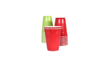 Vibrants Dual Color 16 fl. oz. Plastic Cups, 148 Count, Floral Spring 91dbce64-986a-4a3b-9378-32ea000c97c2