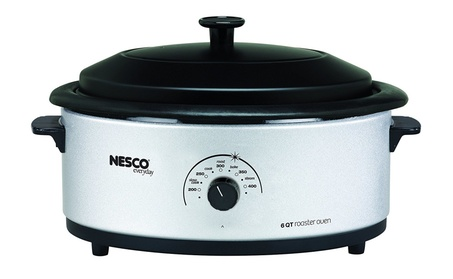 Metal Ware Corp. 4816-47 Nesco 6qt Roaster Oven Silver photo