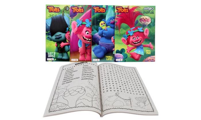 Dreamworks Trolls Coloring Book