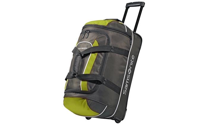 8653373aa33b Samsonite Andante Wheeled Duffel Bag 22-Inches | Groupon