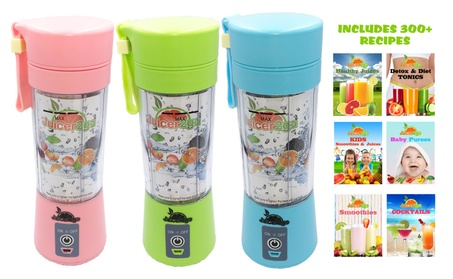 Portable Rechargeable Travel Juicer Blender 0b638186-e757-47c6-b717-fefad645e7f8