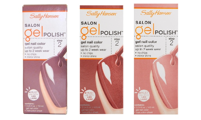 Sally Hansen Gel Polish (0.25 Fl. Oz.) | Groupon