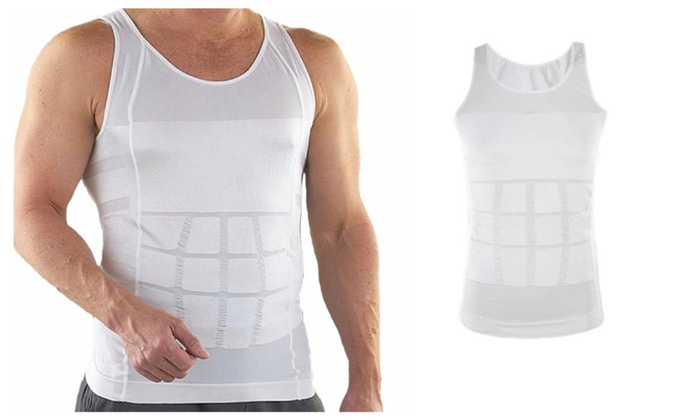 Posture and Back Support Breathable Material Compression Under Shirt