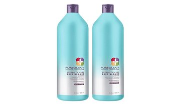 Pureology Strength Cure Best Blond Shampoo & Conditioner Liter Duo