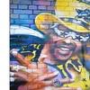 Melbourne Street Art Portrait Graffiti Metal Wall Art 12x28