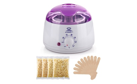 Makartt Wax Warmer Kit Melter Hair Removal 4 Bags Hard Wax Bean Sticks b2aaf817-fd13-4265-8f6c-df375ace810f