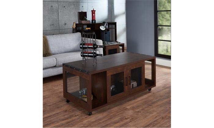 Copal Vintage Walnut Coffee Table
