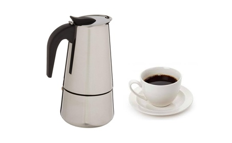 Stainless Steel 9 Cups Espresso Coffee Maker 6fb86781-7e0a-448b-8f06-98be72139f78