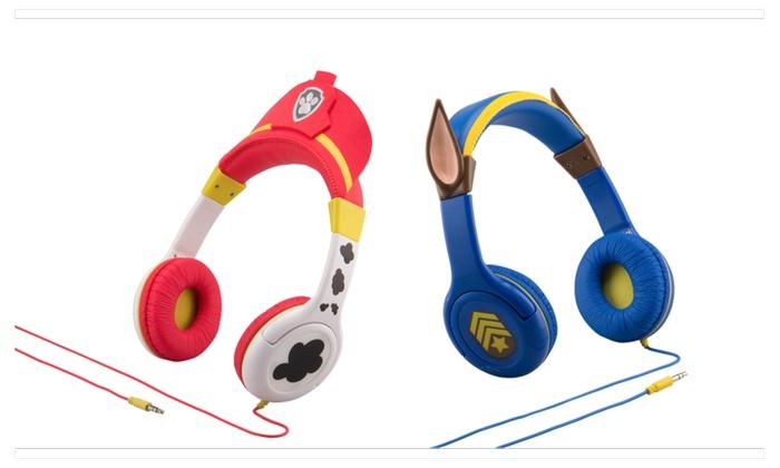 Paw Patrol Kid Friendly Headphones Groupon