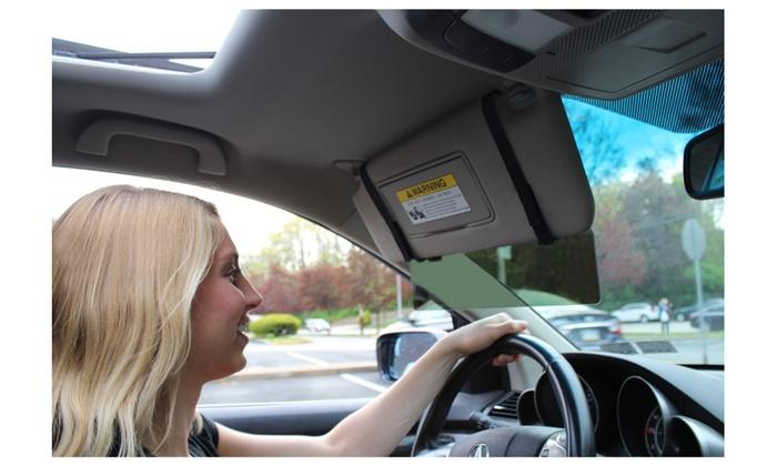 ... Glare Guard Polarized Car Visor Extender Anti-Glare Sun Visor a70f14c3ec5