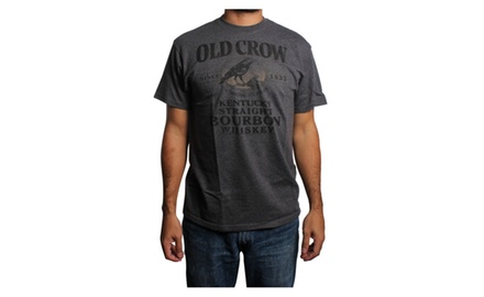 Old Crow - Straight Bourbon Whiskey HTR Charcoal T-shirt
