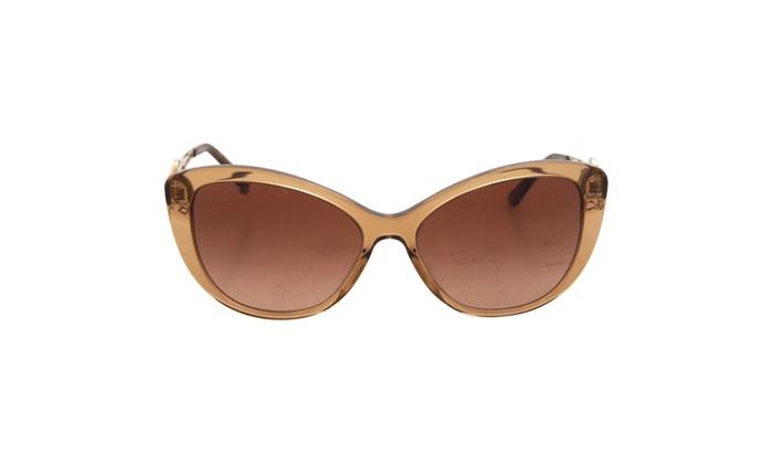 e3cd9989a90e6 VE 4295 617 13 Transparent Brown by Versace 57-16-140 mm Sunglasses ...