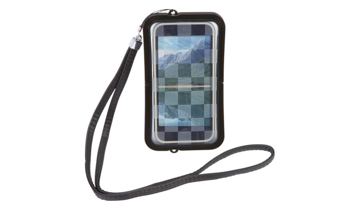 wholesale dealer 0d8ce 9b83f Waterproof Cell Phone or MP3 Neck Case with Wrist Holder