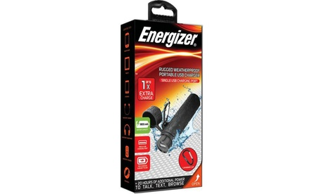 Energizer 1800 mAh Weatherproof Rugged USB Charger with Carabineer Clip 578f2cf3-5234-4a5b-93b5-89e3197c515d