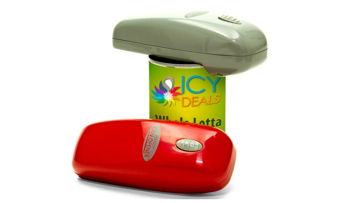Portable Electric Can Openers : Handy can opener portable electric hands free