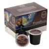 Tullys Coffee Dark Roast, French Roast, 12 K-Cups (Pack of 6)