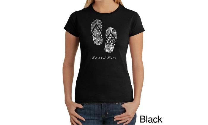 Women's T-Shirt – BEACH BUM