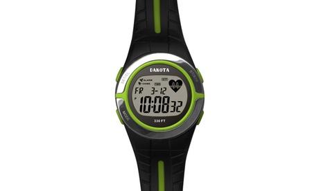 Dakota Watch Company Heart Rate Monitor Watch Lime 6289d0a1-2f6f-4952-8d99-1840c21c528d