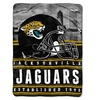 NFL 071 Jaguars Stacked Silk Touch Raschel Throw