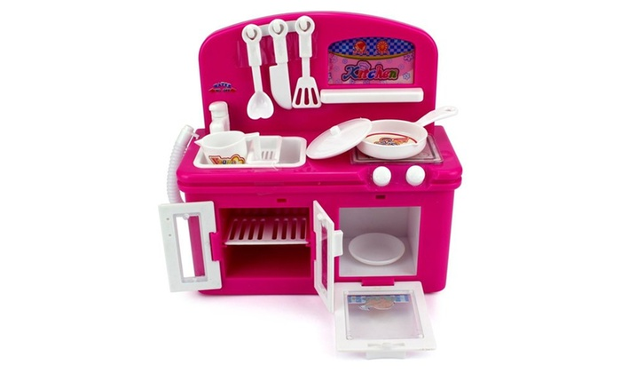 Mini Dream Kitchen Children\'s Kid\'s Toy Kitchen Playset w ...