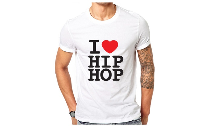 I Love Hip Hop Funny T-shirt