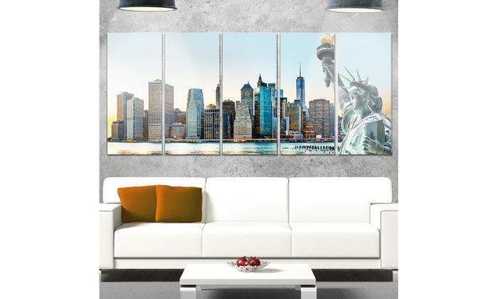 Up To 29% Off on New York City Skyline Panoram... | Groupon Goods