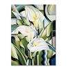 Catherine Abel Cubist Lilies 2002 Canvas Print