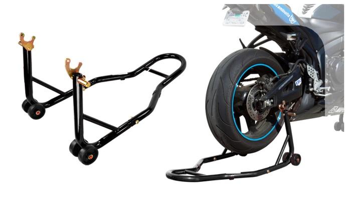 Wheel Lift Swing : Rackpro sportbike motorcycle wheel lift rear spool