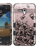 Insten Dual Silicone Case For Alcatel One Touch Fierce XL Rose Gold